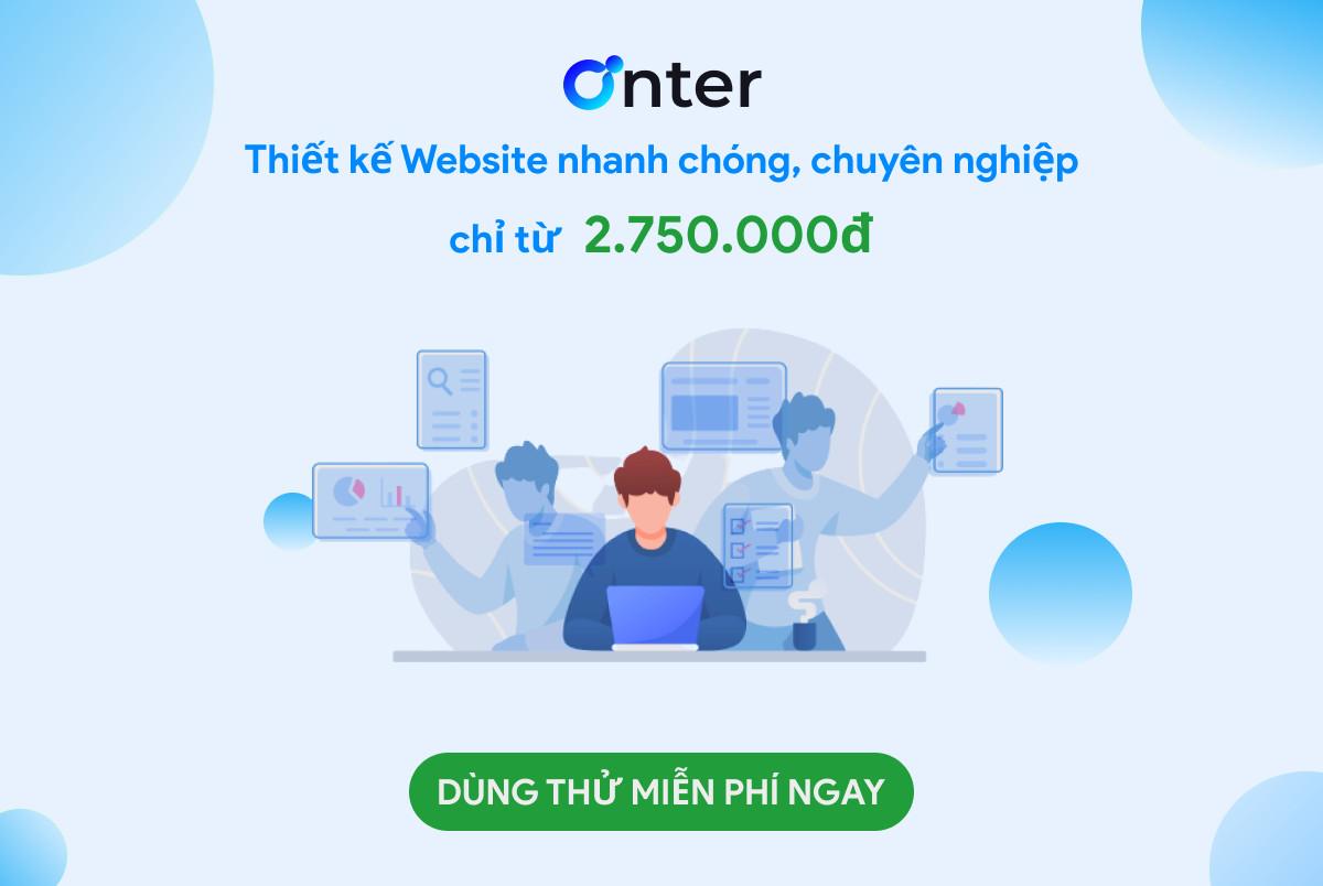 Khám phá hàng trăm mẫu giao diện Website đẹp – Onter
